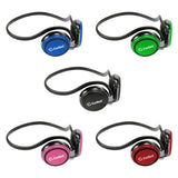 EP3560BL - Cellet Blue 3.5mm Stereo Neckband Earhook Hands Free Headset with Microphone (on & off switch)