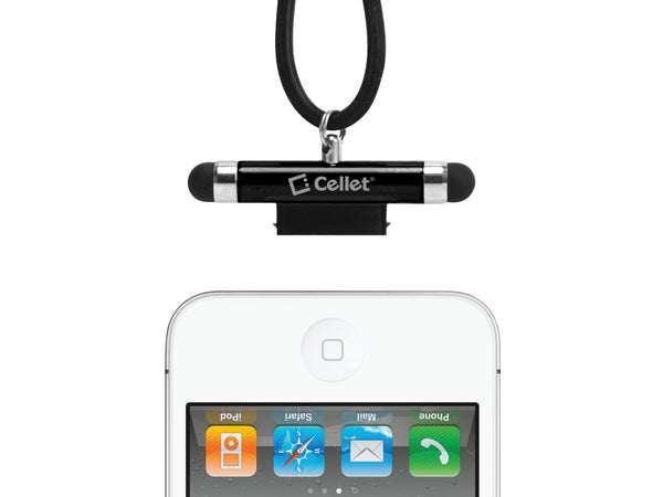 PENIPHBK - IPHONE BLACK STYLUS W/ NECK STRAP