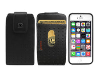 LTERS2 - Cellet Teramo Leather Case with Credit Card Slot for iPhone 5 5S, MOTO X, G with (Slim Case on)