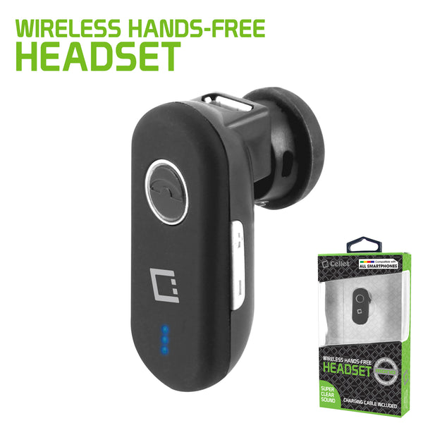 EB100BKB - Cellet Mini Universal Wireless Headset