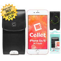NOBLVS3 - Cellet Black Noble Premium Leather Case for the Samsung Galaxy S4 & S3