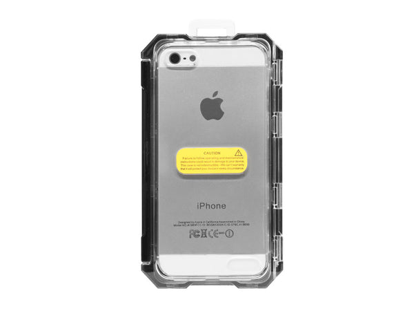 WATERBK - Black Waterproof Case for iPhone 5