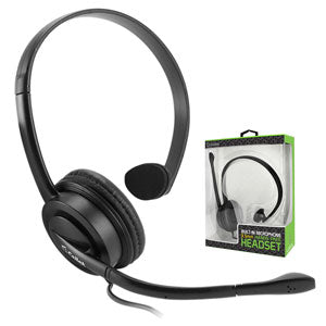 EP35OP - Premium Over The Head 3.5mm Monaural Headset With Mic, Extra Comfort