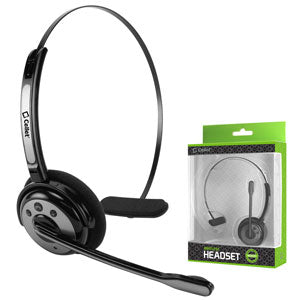 EBBOOM944 - Pro Trucker Wireless Headset/Cell Phone Headset with Microphone - Black/Silver
