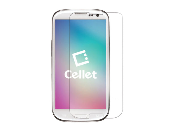 SGSAMS3 - Cellet Premium Tempered Glass Screen Protector for Samsung Galaxy S3