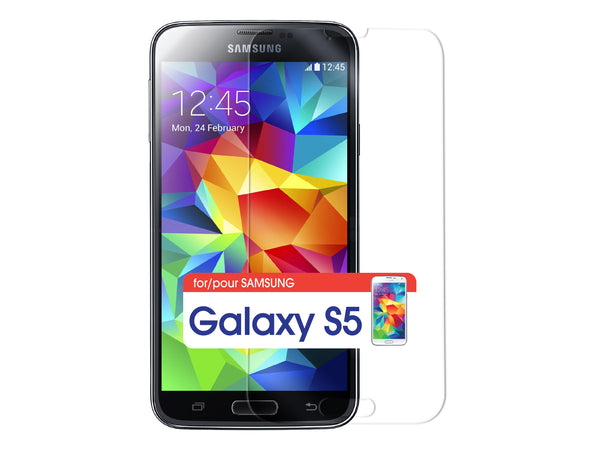 SGSAMS5 - Cellet Premium Tempered Glass Screen Protector for Samsung Galaxy S5 (0.3mm)