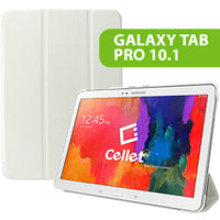 CCSAMTAB10WT - Cellet Slim Shell Folio Cover Case for Samsung Galaxy Tab Pro 10.1 - White
