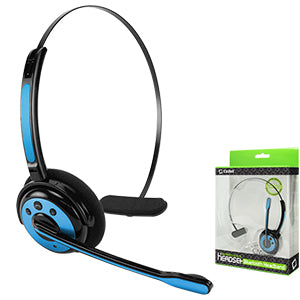 EBBOOM944BL - Pro Trucker Wireless Headset/Cell Phone Headset with Microphone - Blue