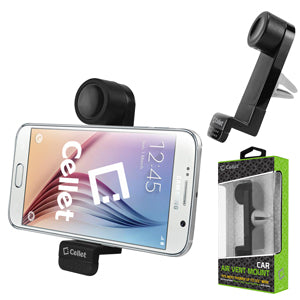 PHHD130 - Cellet Car Air Vent Phone Holder for Phones and MP3 / MP4 up to 3.6 Inches Wide