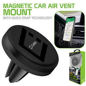 PHEMVENT - Cellet Extra Strength Magnetic (with Quick-Snap Technology) Car Vent Smartphone Holder