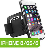 HLIPH6AR - Cellet Rubberized Proguard Case + Sports Armband Combo for Apple iPhone 6 & 6s, iPhone 7, iPhone 8
