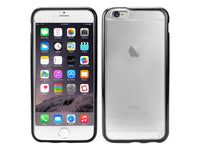 DDD6 - Cellet Clear Window- Black Border PU Case for Apple iPhone 6