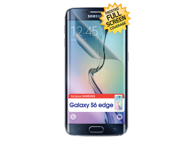 SPSAMS6ED - Cellet Frost Finish Full Screen Protector for Samsung Galaxy S6 Edge