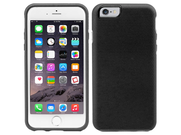 CCIPH6Q5BK - Cellet Rubberized DualProtect Series Case for iPhone 6 (4.7-inch) Black