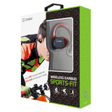 BTACTIVERD - Cellet Sports-Fit Wireless Version V4.1 Stereo Headset with NFC Connection - Red