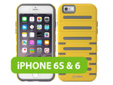 CCIPH6SQ1YW - Cellet DuoPro Armor Case for Apple iPhone 6s / 6 - Yellow/Gray