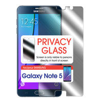SYSAMN5 - Cellet Premium Tempered Privacy Glass Screen Protector for Samsung Galaxy Note 5 (0.8mm)