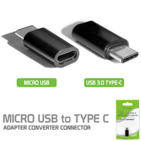 CNMICC - Cellet Micro USB to USB Type-C Adapter Converter Connector