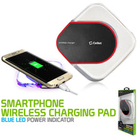 QI200BK - Wireless Charging Pad, Cellet LED Wireless Charging Pad - Black
