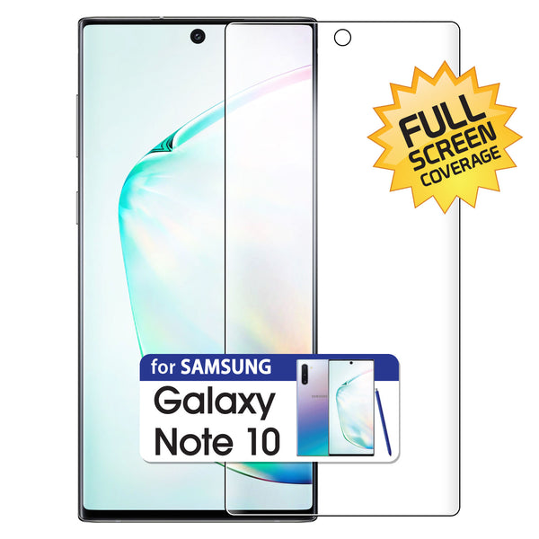 STSAMN10 - Full Coverage Flexible TPU Screen Protector Cover- Samsung Galaxy Note 10