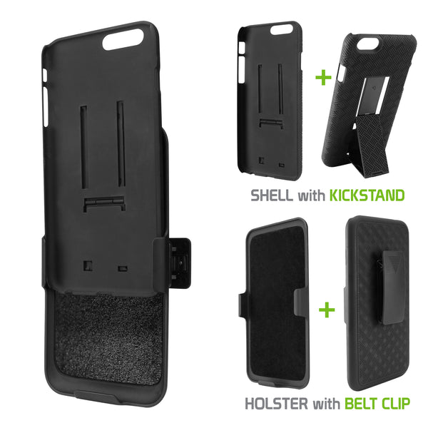 HLIPH7P - COMBO HOLSTER W/ CASE IPHONE 8PLUS, 7PLU