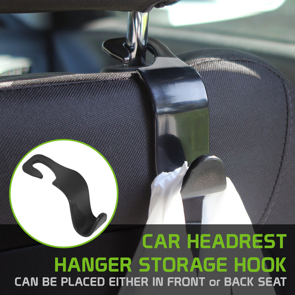 HOOK20 - Car Hooks, CyonGear Universal Car Headrest Hanger Storage Hook