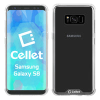CCSAMS8CL - Samsung Galaxy S8 Hybrid Transparent Phone Case Ultra Slim Fit