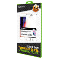 SGIPH8 - Tempered Glass Screen Protector for Apple iPhone 8, 7, 6S, 6 (0.3mm) by Cellet