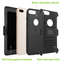 HLIPH8PR - COMBO HOLSTER W/RIGN IPHONE 8 PLUS