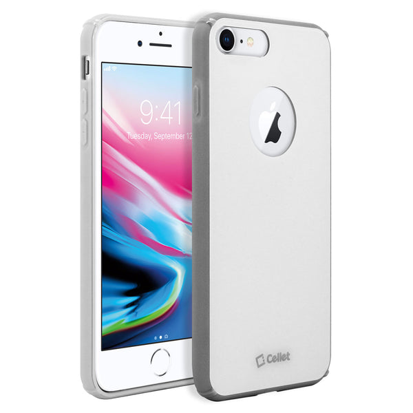 CCIPH7P81WT - iPhone 7/ 8 Plus Durable Slim Hard Case TPU and durable PC Plastic that Provides All-Around Protection - White