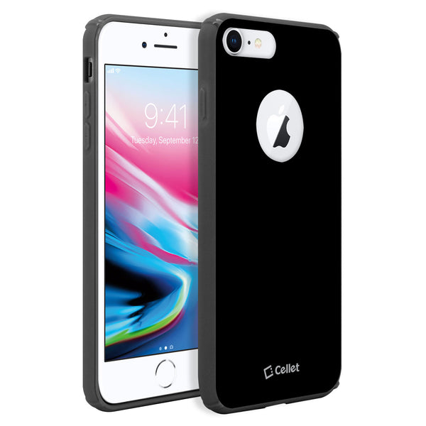 CCIPH7P81BK - iPhone 7/ 8 Plus Case, Slim Hard Case TPU and durable PC Plastic that Provides All-Around Protection - Black