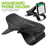 PHD270 - Dashboard Phone Holder, Clip Mount for Apple iPhone X, 8, 8 Plus, Samsung Galaxy Note 8, Samsung Galaxy S8, S8 Plus and More – by Cellet