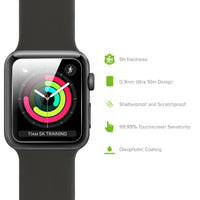 SGIPHW42 - Apple Watch (42mm) Screen Protector, Premium Tempered Glass Screen Protector for Apple Watch (0.3mm) by Cellet