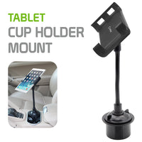 PHC19CN - Heavy Duty Tablet / Smartphone Cup Holder Mount with 360 Degree Rotation by Cellet