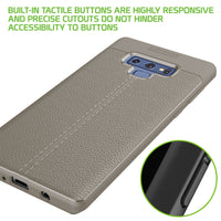 CCSAMN9GY - Slim Flexible Protecting Case Cover - Grey- Galaxy Note 9