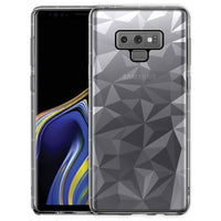 CCSAMN9PG - Samsung Galaxy Note 9 Ultra Slim Diamond Pattern Protective Case Cover - Clear
