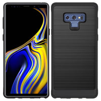 CCSAMN9DBK - Samsung Galaxy Note9 Sleek Rubberized TPU Protective Phone Case - Black