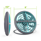 FAN100 - Portable USB Powered UFO Fan, Ultra Slim and Compact USB Powered Foldable Desktop Fan