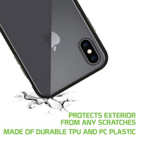 DDDX-  Durable Clear Shockproof Slim Phone Case TPU Material - iPhone X