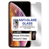 SAIPHXSM -Anti Glare Screen Protector, 9H Tempered Glass - iPhone XS Max