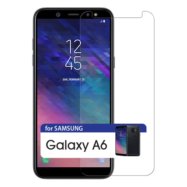 SGSAMA6 -Anti Scratch Premium Tempered Glass Screen Protector 9H Samsung Galaxy A6