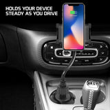 PH650G - Heavy Duty Smartphone Mount, Cup Holder Mount with Flexible Gooseneck and 360 Degree Rotation for Smartphones by Cellet