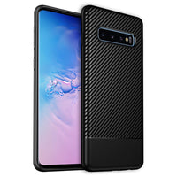 CCSAMS10BBK - Samsung Galaxy S10 Heavy Duty Slim Case Protector Cover - Black
