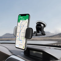 PHD355 -Heavy Duty Dashboard & Windshield Phone Holder Mount 360 Rotating Strong Sticky Suction Pad
