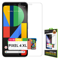SGGOOPK4XL - Google Pixel 4 XL Tempered Glass Screen Protector, Cellet 0.3mm Premium Tempered Glass Screen Protector for Google Pixel 4 XL (9H Hardness)