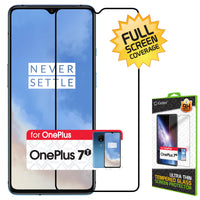 SGONEP7T - OnePlus 7T Full Coverage Screen Protector, Premium 3D Full Coverage Tempered Glass Screen Protector for OnePlus 7T by Cellet