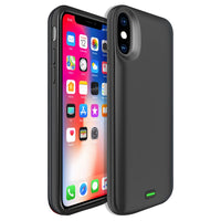 BIPHX - iPhone X, 5000mAh Rechargeable External Power Case for Apple iPhone X – Black (No Brand)