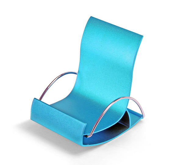 DCHAIRBL - STEEL Display CHAIR- Blue
