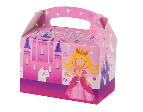 Princess Party Food Boxes (6 Pack)