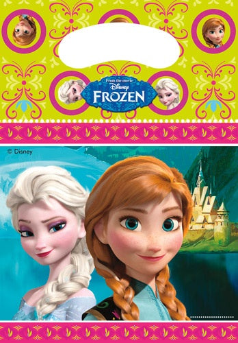 Disney Frozen Party Loot Bags x6